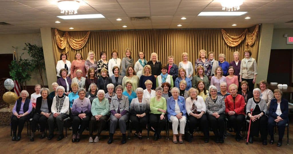 KC Auxiliary 50th Anniversary Celebration on April 2017 at the KC Hall, Fond du Lac, WI.